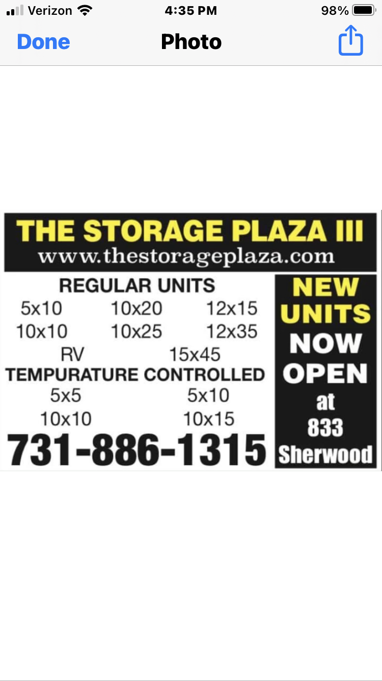 Storage Plaza III RV / BOAT/ SELF STORAGE